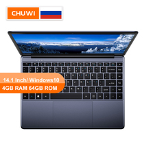 CHUWI HeroBook 14,1 дюймов ноутбук с системой Windows 10 Intel E8000 4 ядра 4 Гб RAM 64 Гб ROM ноутбук