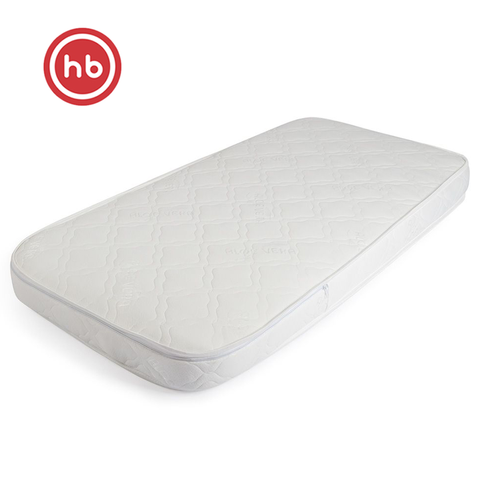 Mattresses Happy Baby 95002 Set Of Mattress In The Bed For Newborn Children Bedding For A Crib Hollofayber, Latex, Coconut Cloth
