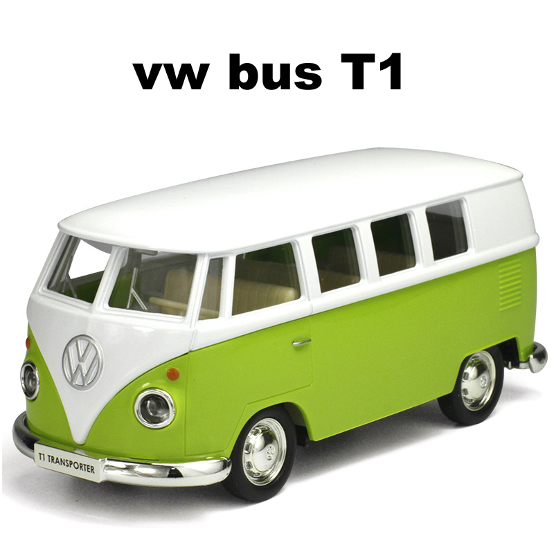 VW Campervan Diecast Pocket Toy Model