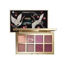 ZHENDUO 8 Romantic colors shimmer Matte glitte eyeshadow Palette eye makeup pallete beauty cosmetics