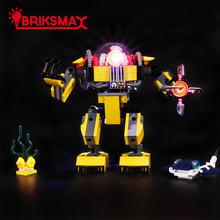 Briksmax светодиодный светильник комплект для 31090 создателей