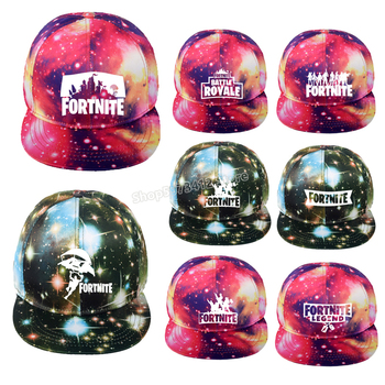 Fortress Night  Baseball Hat Fortnites Starry Cap Cottons Adjustable Snapback Hats Fashion Anime Casual Birthday Cap Gift Toy 1