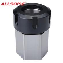 ALLSOME Hard Steel Hex ER-32 Collet Chuck Block CNC Lathe Tool Holder HT2941