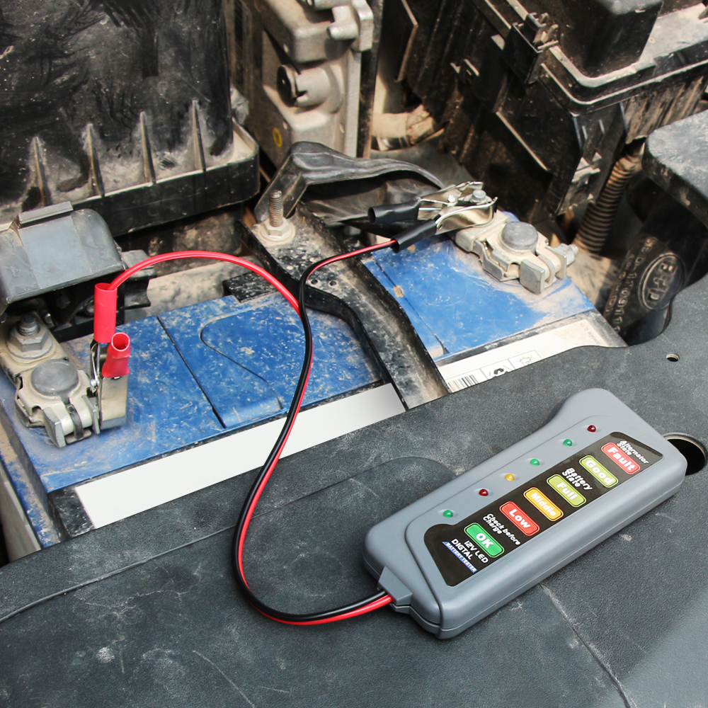 Car Battery /& Alternator Tester for Honda CR-V 12v DC Voltage Check