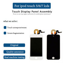 Original for iPod Touch 5 6 7th LCD Display Touch Screen Digitizer Assembly for iPod Touch 5 Gen Gener free repair tool