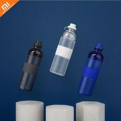 Xiaomi mijia przenośne plastikowe butelki sportowe 600ML outdoor travel szczelne Tritan butelka napoju przenośna butelka wody smart