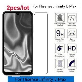 Перейти на Алиэкспресс и купить 2.5D 9H закаленное стекло для Hisense Infinity E Max Защитная пленка для Hisense Infinity E Max стекло