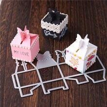 Eastshape Подарочная коробка металлические Вырубные штампы рождественские