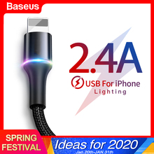 Baseus USB Cable For iPhone Charger Fast Charging Mobile Pho