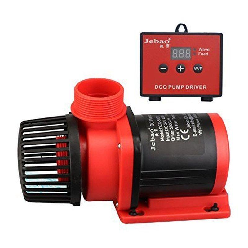 110 240V Jebao DCQ 3500 LCD Display Controleerbaar DC Terugkeer Waterpomp voor Marine Aquarium Sump Pomp Aquarium wave Maker 3500L/h