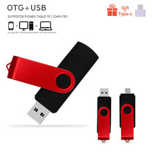 Usb Memory Pen-Drive Stick 64gb Custom-Logo 8GB Computer/android-Phone Metal 16GB OTG