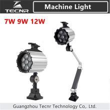 7 Вт 9 Вт 12 Вт станок с ЧПУ светодиодный светильник 12 В 24 в 36 в 110 В 220 В для промышленного инструмента рабочий Светильник лампы длинные руки складной светильник s