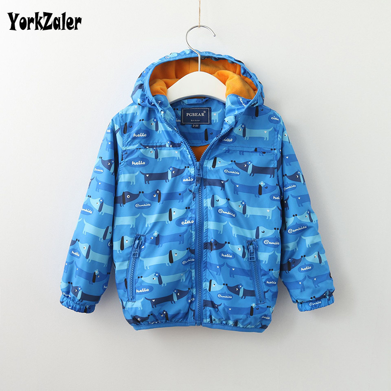 Yorkzaler Kids Jacket Outerwear Coats Toddler Girls Baby Boys Children's Hooded for Long-Sleeve