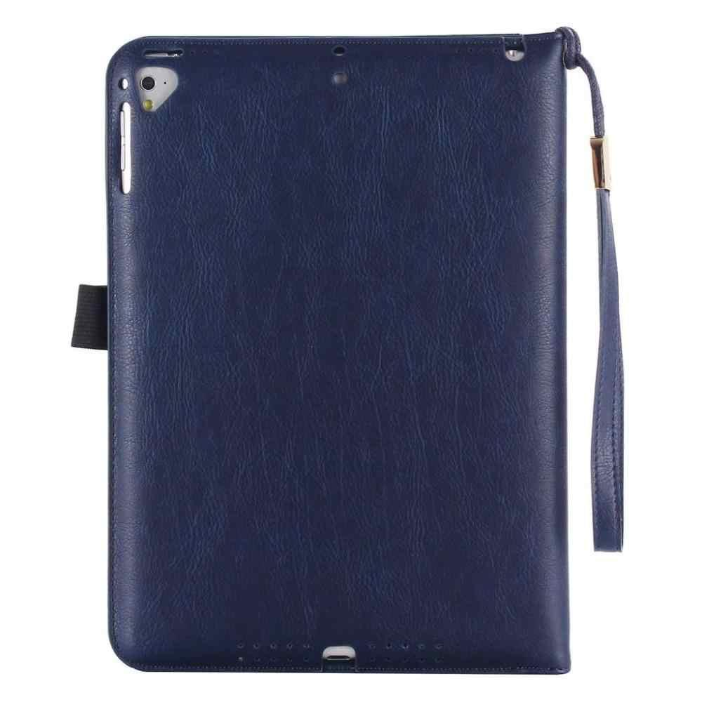 Ручной фиксацией для хранения крышка-чехол для Apple iPad 2/3/4 A1458 A1459 A1460 Смарт из искусственной кожи чехол для планшета Funda + стилус.