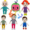 JJ Cocomelon Toy Musical Bedtime Soft Plush Doll For Baby Music Barbie Doll Family Kids Toys Birthday Gift Anime Plushie 3
