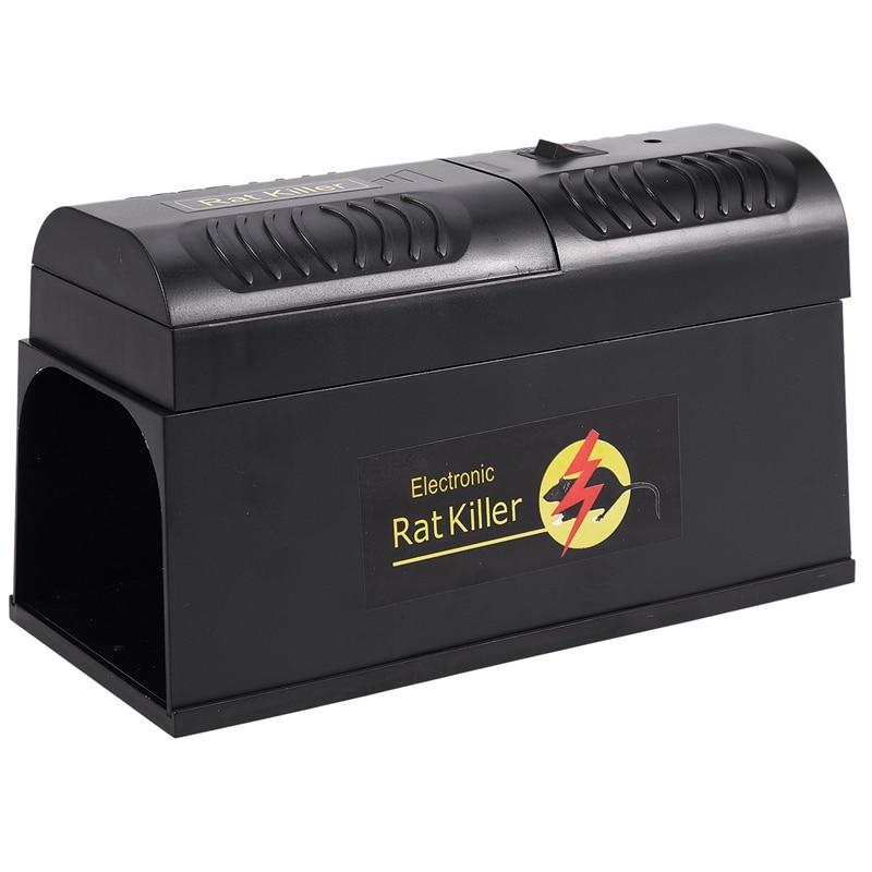 Retail Electric High Voltage Mouse Rat Trap Mouse Killer Electronic Rodent Mouse Zapper Electrocute Home Use Pest Control EU Plu