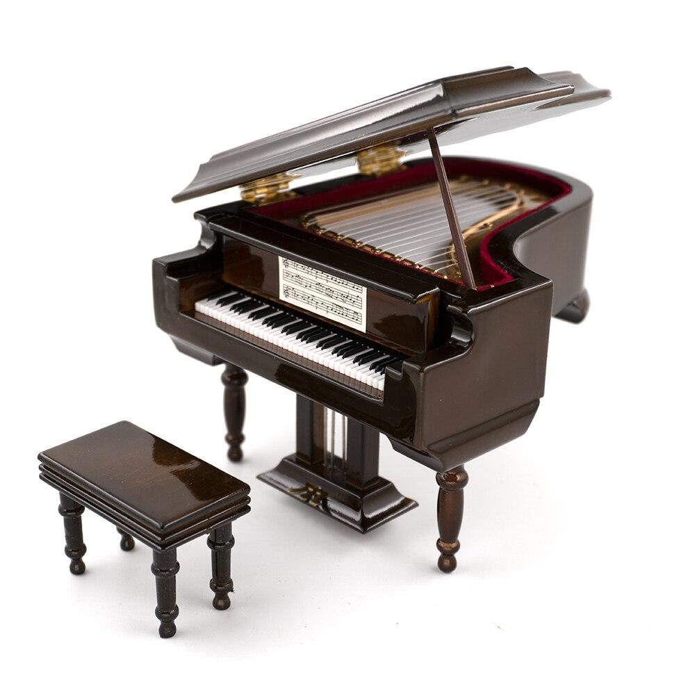 Miniatur Konzertflügel aus Holz Mini Musikinstrument