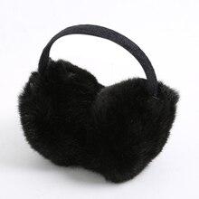 2020 New Winter Earmuffs Women Men Plush Ear Warmer Adult Imitation Rabbit Fur Ear Muff Headband Outdoor Cute Solid Ear Muffs