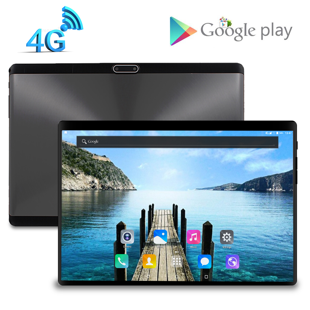 LZW 4G LTE Global Version S119 10.1 Inch 2.5D Tablet PC Ten Deca 8 Core 3GB RAM 32GB ROM Android 7.0 WiFi 3G 4G LTE IPS Computer