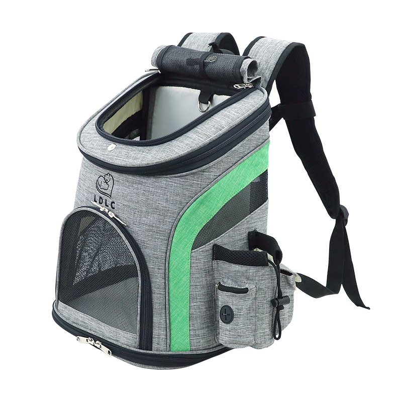 Pet Carrier Backpack For Small Cats And Dogs Ventilated Design Safety Strap For Travel, Hiking & Outdoor Use Drop Ship