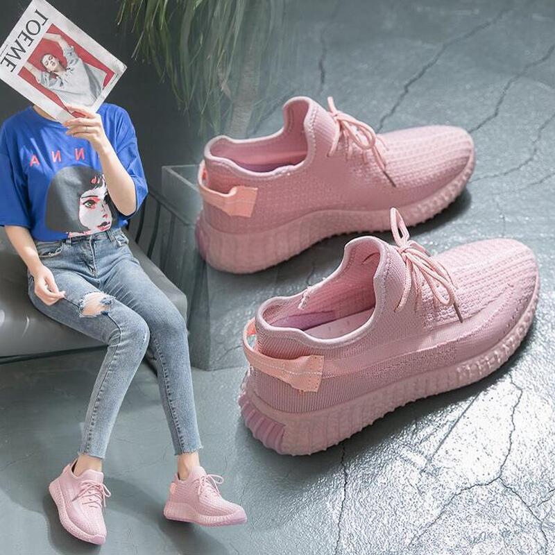 Вулканизированная обувь; Женская сетчатая обувь на плоской подошве; повседневная обувь для прогулки; кроссовки; женская мягкая обувь;