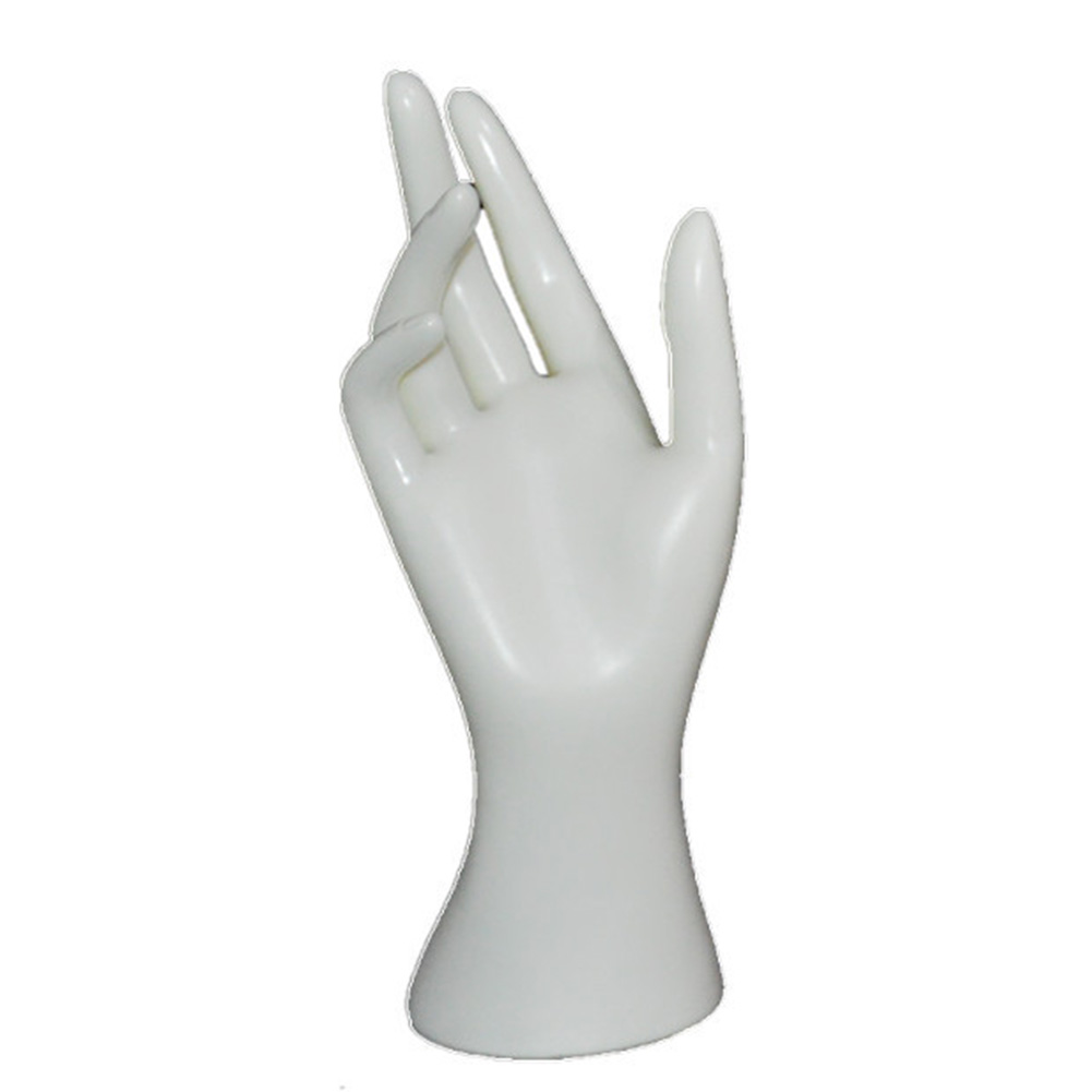 Arm Finger <font><b>Ring</b></font> Bangle Jewelry Display Stand Model Gloves <font><b>Bracelet</b></font> Wrist <font><b>Mannequin</b></font> <font><b>Hand</b></font> Right Base Holder Watch image