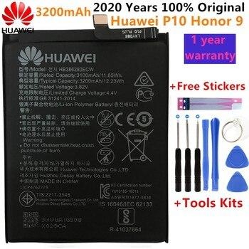 Hua Wei Replacement Phone Battery HB386280ECW 3200mAh Battery For Huawei Honor 9 STF-L09 STF-AL10 For Huawei P10 5.1