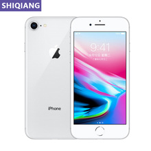 Used Original Apple iphone 8 Telephone 4.7in Fingerprint Unlock 2+64/256GB GPS&NFC 7+12MP 1 SIM Card Mobile Phones