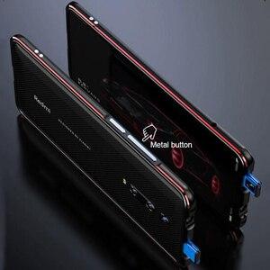 Image 4 - Dành Cho Xiaomi Mi 9T Ốp Lưng Funda Hãng Cao Cấp Bóng Nhôm Ốp Lưng Ốp Lưng Cho Xiaomi Mi 9T Pro Điện Thoại bao Da Khung Kim Loại + Quà Tặng