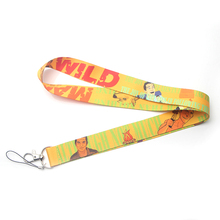 Man vs Wild Bear Gryll New arrive hot phone Lanyard Neck Strap with clip For keychain ID Card Holder key Chain party gifts E0494