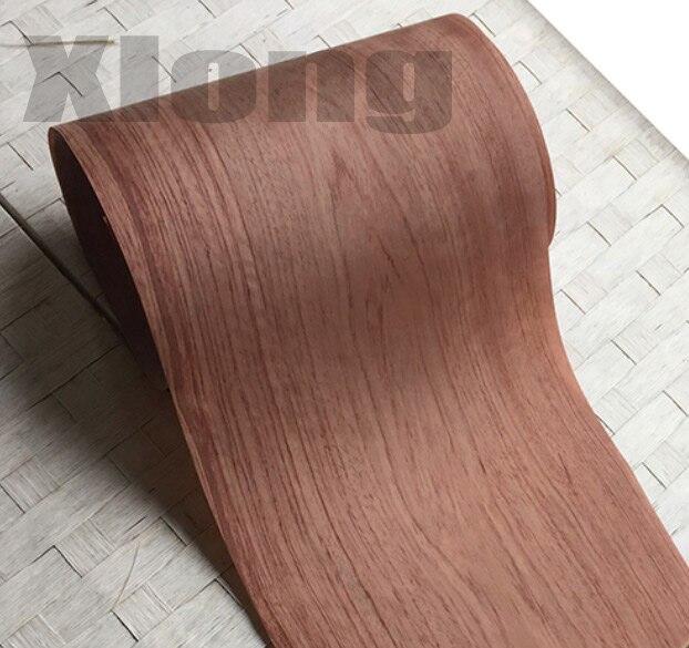2PCS/LOT 2.5Meter/pcs Width:22cm Thickness:0.25mm Solid Wood Rosewood Veneer Furniture Edge Banding