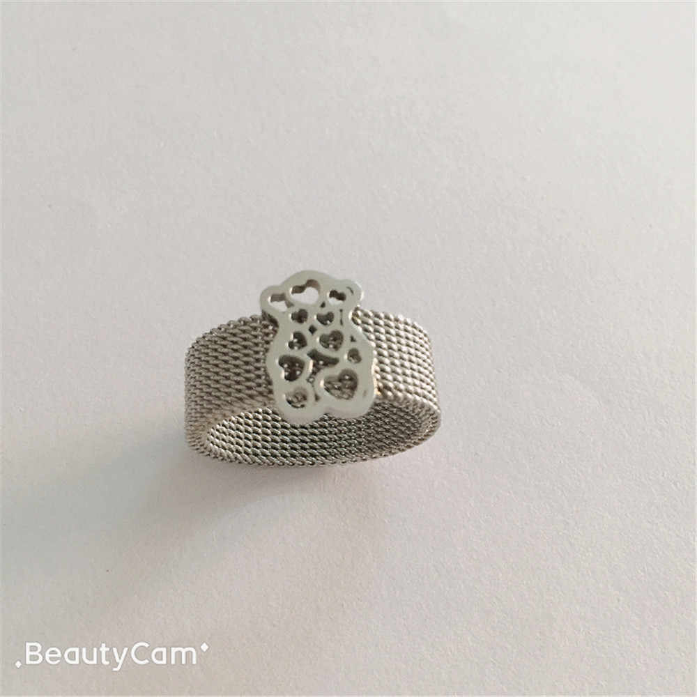 bear ring stainless steel bear rings trendy sharp ring for best gift free ship many can select  top high quality hot sell