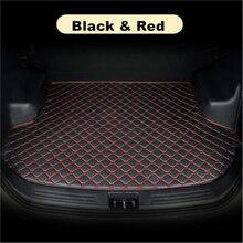 Sinjayer коврик для багажника автомобиля, водонепроницаемые коврики для багажника автомобиля, плоский коврик для груза, коврик, подкладка для ...