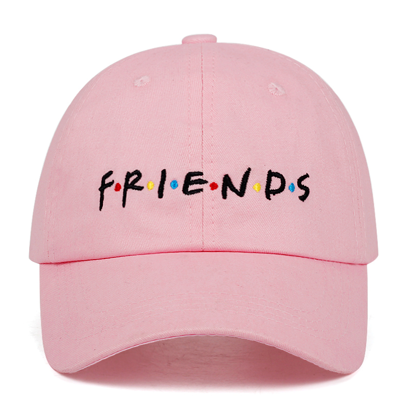 2019 New Fashion FRIENDS Embroidered Baseball Cap Couple Universal Dad Hat Cotton Outdoor Sun Hats Casual Golf Caps
