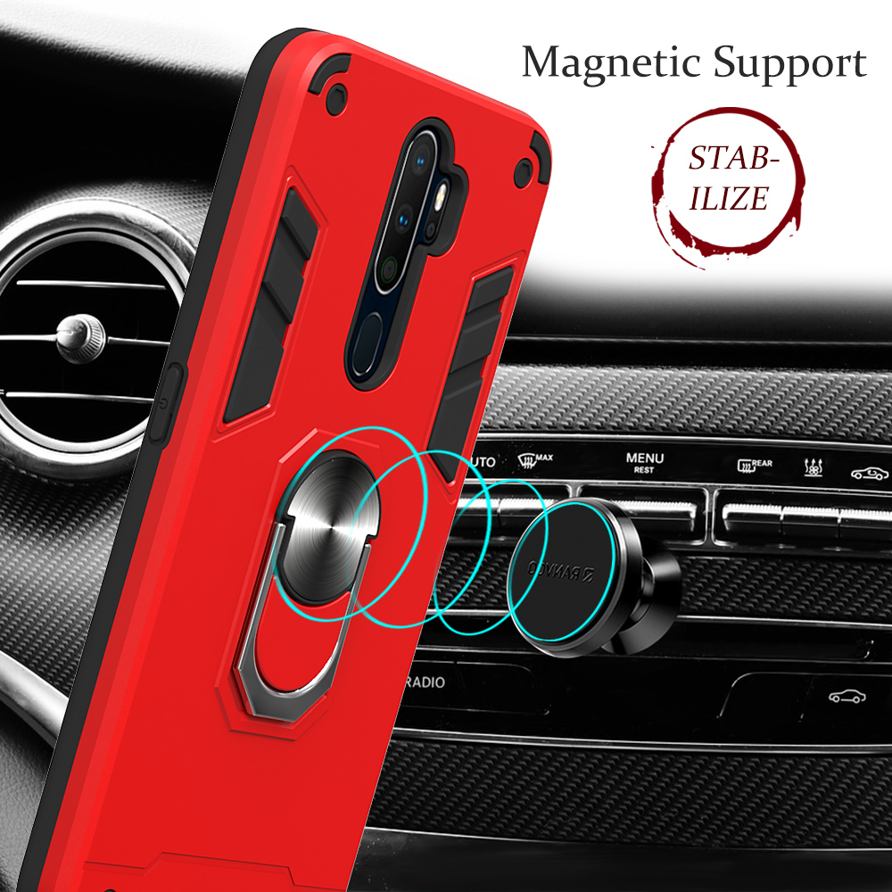 For <font><b>OPPO</b></font> F11 Pro A9 A5 2020 Reno 2 Reno 2Z A1K k3 A37 A7 Shockproof Armor Case for <font><b>Realme</b></font> X2 <font><b>3</b></font> 5 pro 5 XT F9 <font><b>Phone</b></font> Back Cover image