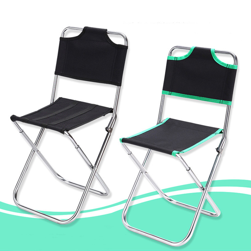 OUTDOOR WATERPROOF SEAT back support black camping fishing picnic beach chair