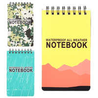 Pro Waterproof Spiral All Weather Notebook Paper Outdoor Rain Notepad 126x76mm New Notebook For Office School Students Supplies