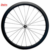 700c road wheel 38x25mm tubeless clincher carbon disc wheel 720g D791SB front raod disc wheel 100x15mm QR carbon clincher wheel