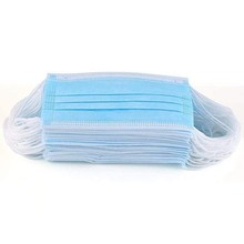 50PC Air Purifying Face Mask Cover 3 Layer Solid color Mouth Filter Masks  Anti-wind Face Mask Washable Earloop Mask mascarilla