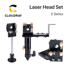 Cloudray E Series Set with Old  CO2 Laser Head Focusing Lens D20mm FL50.8/63.5/101.6 Mirror 25mm for Laser Cutting Machine