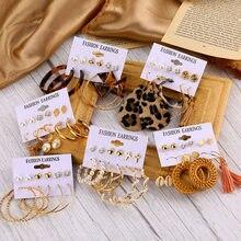 EN – boucles d'oreilles Vintage EN coquillage, perles, pampilles pour femmes, style Boho, Dangle, Brincos, acrylique, goutte, bijoux bohème, 2020