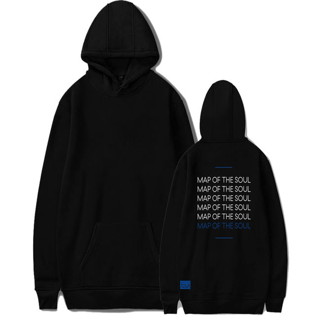 MAP OF THE SOUL 7 TOUR THEMED HOODIE (10 VARIAN)