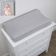 Reusable Baby Girl Boy Changing Station Cover Nursery Breathable Table Sheet Infant Soft