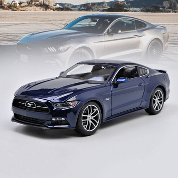 Maisto 1/18 1:18 Scale 2015 Ford Mustang GT Racing Sports Car Diecast Display Metal Alloy Collectible Model Children Boys Toy 1 18 ford mustang gt car diecast car model for gifts collection hobby