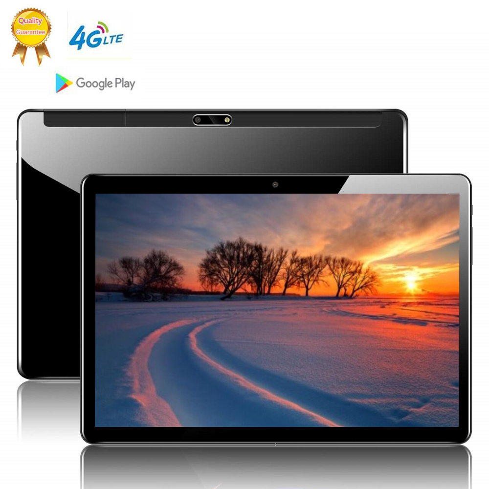 2020 CARBAYTA MT6797 10 Inch 2.5D Tablet PC 10 Deca Core 8GB RAM 128GB ROM Android 9.0 WiFi 3G 4G LTE IPS HD Tablet Holder