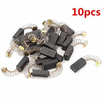 10 sztuk Hot sprzedaży Mini części zamienne do szczotek węglowych wiertła części zamienne do szlifierki elektrycznej na silniki elektryczne narzędzie obrotowe 4style tanie i dobre opinie Carbon Brushes