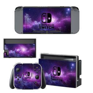 Image 5 - Przełącznik do Nintendo skóra winylowa kalkomania Wrap na przełącznik konsoli Nintendo Joy Con Dock Skin