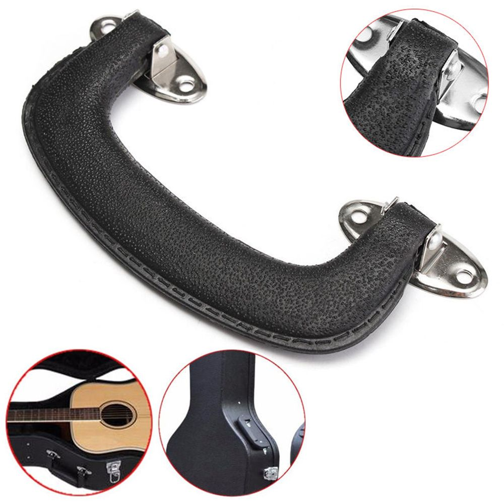 New Hot Sale 152mm Black Plastic Carrying Handle Grip For Guitar Case Replacement Suitcase Box Luggage Handle Grip