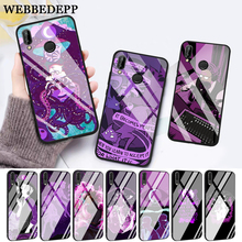 WEBBEDEPP night vale fan art Glass Case for Huawei P10 lite P20 Pro P30 P Smart honor 7A 8X 9 10 Y6 Mate 20