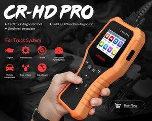 Image 4 - 起動CR HDプロOBD2コードリーダースキャナ12v/24v車のトラック多言語自動診断ツール無料アップデート